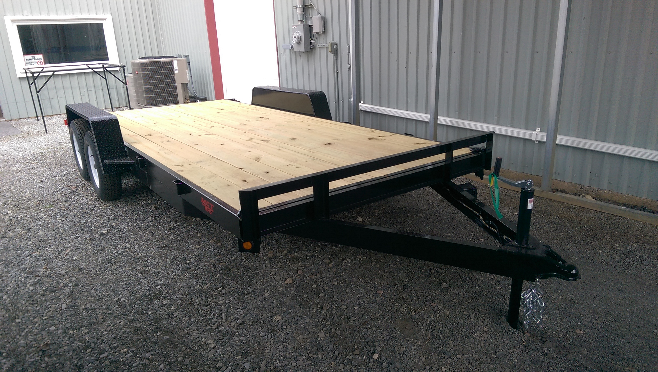 "102"" x 18' Car Hauler Mentzer Custom Utility Trailer"