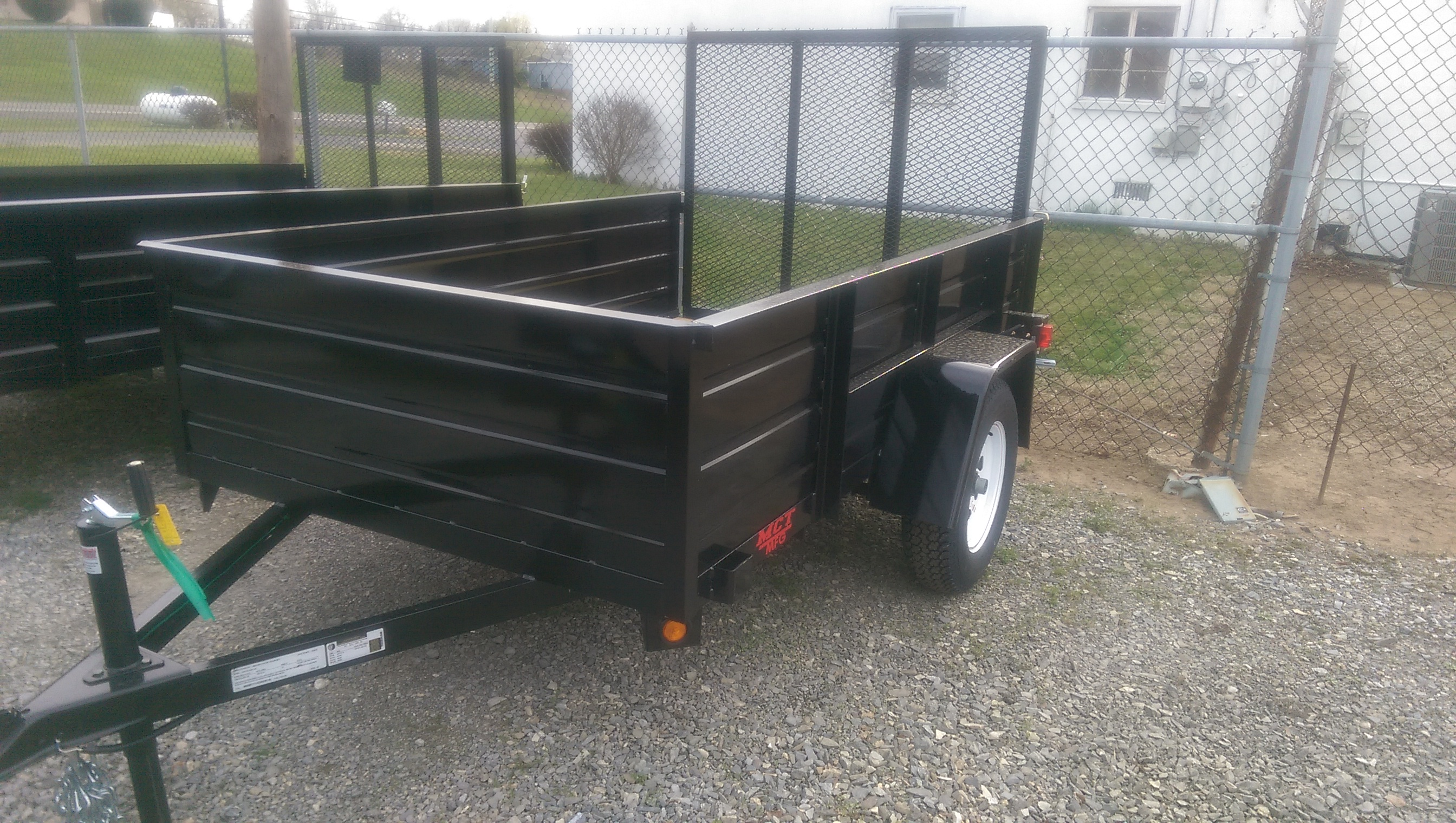 5 x 8 Tub Mentzer Custom Utility Trailer