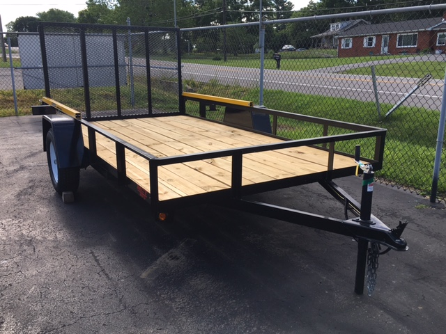 6 x 12 Mentzer Custom Utility Trailer with Gorilla Lift