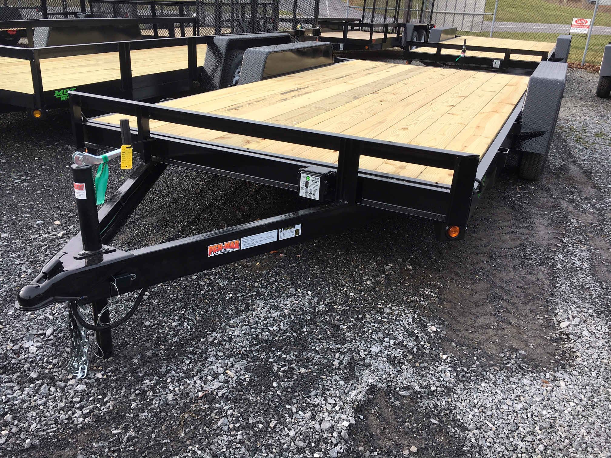 "102"" x 16 Car Hauler Mentzer Custom Utility Trailer"
